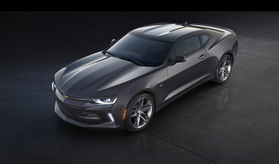 Chevrolet's full line of 2016 Camaro models will roll exclusively on Goodyear Eagle performance tires (Image courtesy of Chevrolet)