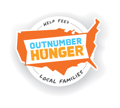 Outnumber Hunger Logo. (PRNewsFoto/General Mills, Outnumber Hunger) (PRNewsFoto/GENERAL MILLS)
