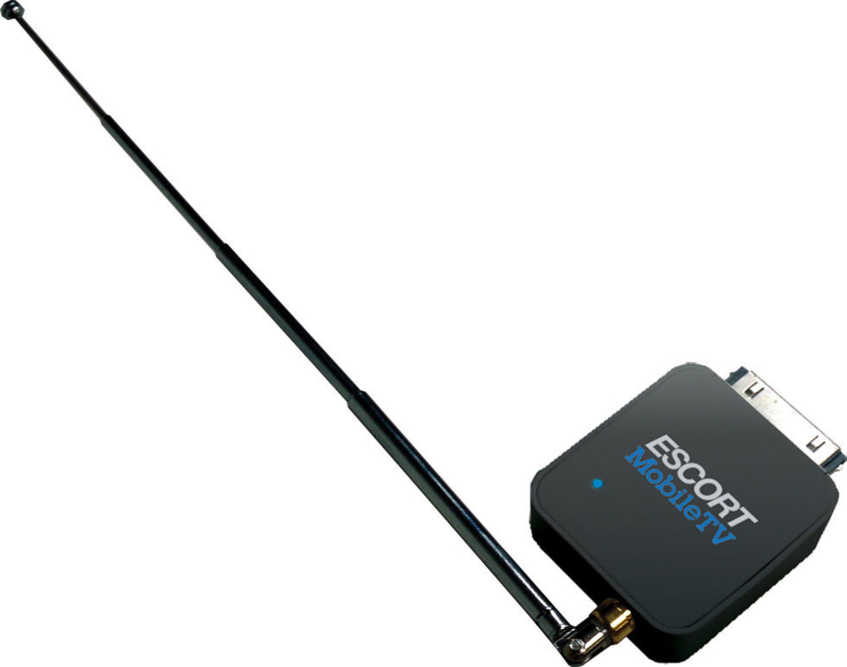 The ESCORT MobileTV Receiver.(PRNewsFoto/ESCORT Inc.; Dyle Mobile TV)