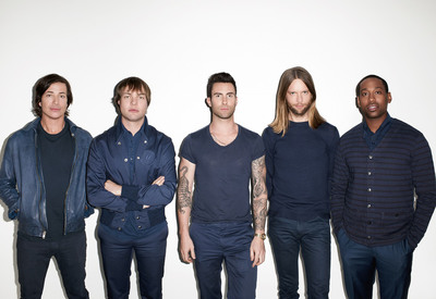 Maroon 5 To Headline 2013 Honda Civic Tour With Special Guest Kelly Clarkson.  (PRNewsFoto/American Honda Motor Co., Inc.)