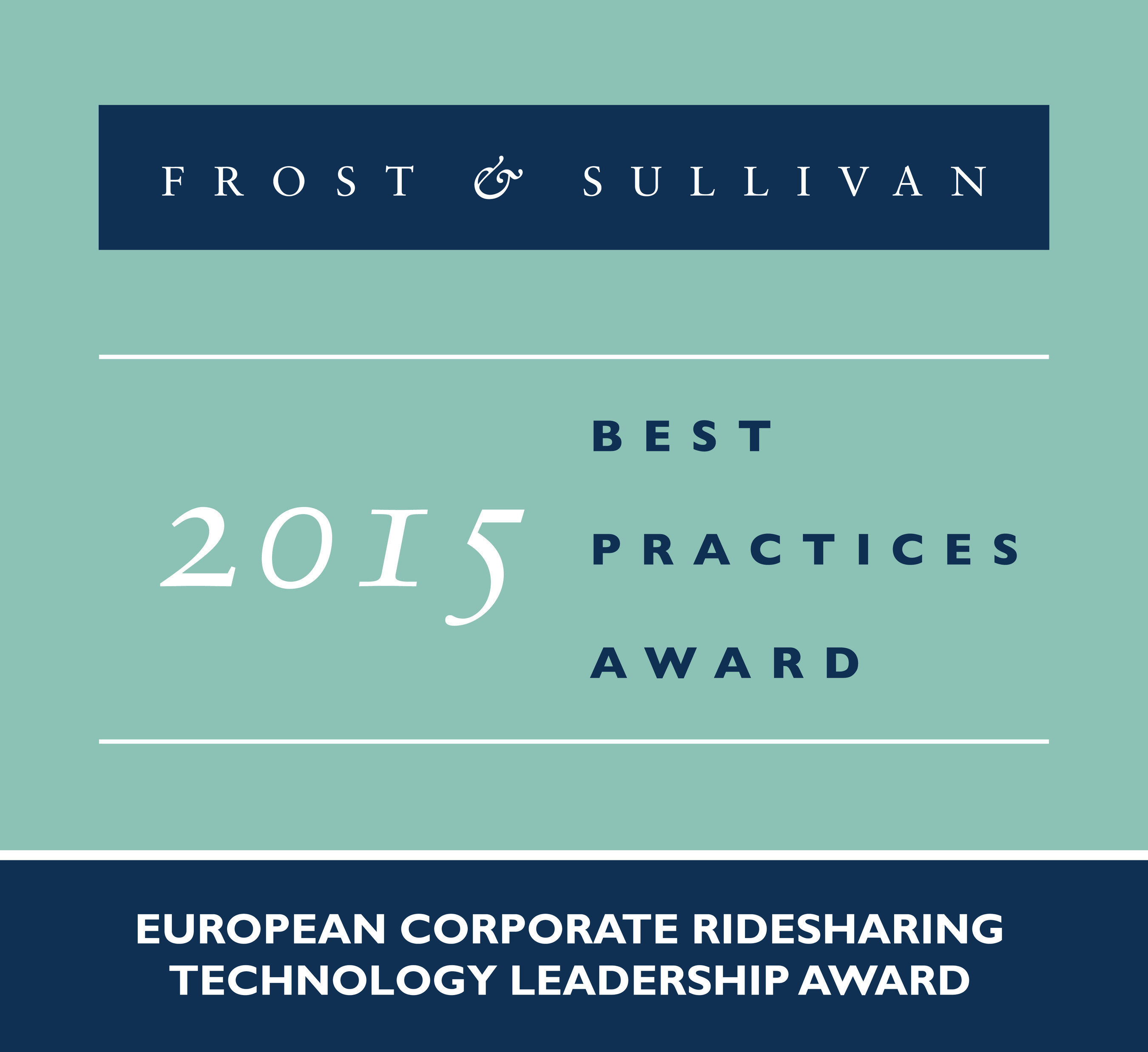 Frost & Sullivan Commends SAP's mobile, cloud-based Corporate Ridesharing Solution TwoGo by SAP