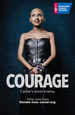 """American Cancer Society's new """"Advantage Humans"""" campaign features Isabel Lopez, a 15-year-old dancer with lymphoma."""