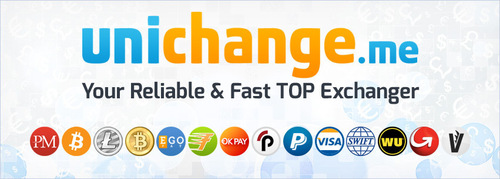 Unichange.me is your reliable fast TOP exchanger buy sell exchange Bitcoin, Litecoin, BTC-e, OkPay, EgoPay, Perfect Money, FasaPay. (PRNewsFoto/Unichange_me)