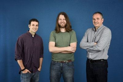 Left to Right are Troy Michels, John Peebles, Derek Gardner all of Administrate (PRNewsFoto/Administrate)