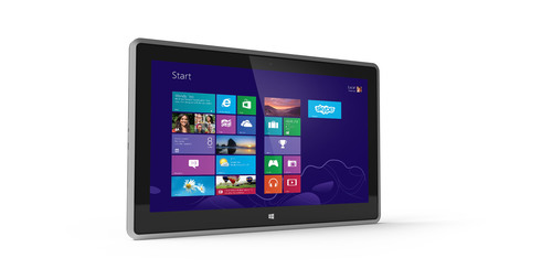 VIZIO Introduces 11.6' Tablet PC Featuring Windows 8 for Full Performance On-the-Go