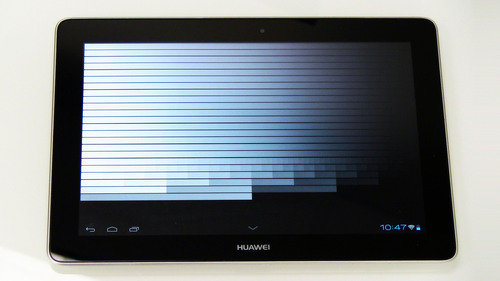 Device: Huawei Media Pad FHD, GPU: Vivante GC4000. This is an almost perfect result; very similar to our benchmark and very linear in degradation. No issues here: lots of usable range; no artifact errors. A great mobile reference platform.  (PRNewsFoto/Vivante Corporation)