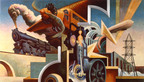 AXA Equitable Donates America Today, Thomas Hart Benton's Epic Mural Cycle Celebrating Life in 1920s America, to Metropolitan Museum