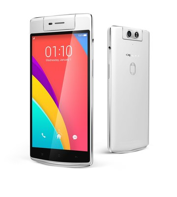 OPPO N3 with the first Automatic Rotating Camera
