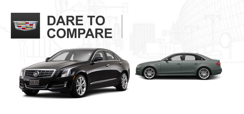The 2014 Cadillac ATS is one of the best performance sedans on the market that has more engine options than the 2014 Audi A4. (PRNewsFoto/Cavender Cadillac)