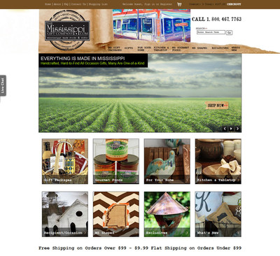 new website features hundreds of products made in mississippi