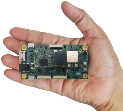 eSOMiMX6-micro development kit. (PRNewsFoto/e-con Systems)
