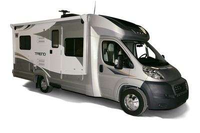 The all new 2014 Winnebago Trend is nicely affordable and delivers peppy, fuel-efficiency with the Ram ProMaster chassis, as well as comfortable living space for up to six people. (PRNewsFoto/Winnebago Industries, Inc.) (PRNewsFoto/WINNEBAGO INDUSTRIES, INC.)