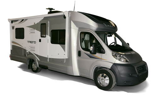 The all new 2014 Winnebago Trend is nicely affordable and delivers peppy, fuel-efficiency with the Ram ProMaster chassis, as well as comfortable living space for up to six people.  (PRNewsFoto/Winnebago Industries, Inc.)
