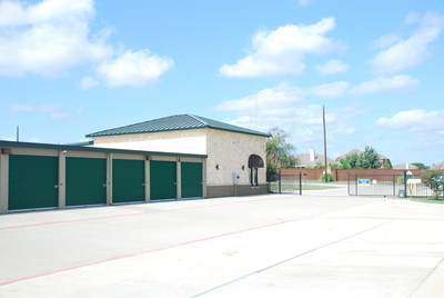 Compass Self Storage recently acquired this self storage center in Fate, TX (PRNewsFoto/Amsdell Companies)