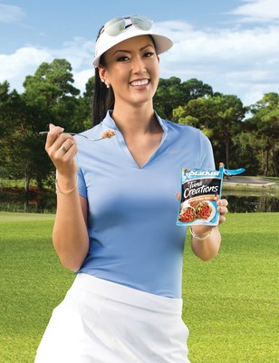 STARKIST(R) AND PROFESSIONAL GOLFER MICHELLE WIE PARTNER TO PROMOTE STARKIST CREATIONS(TM) SINGLE-SERVE POUCH PRODUCTS