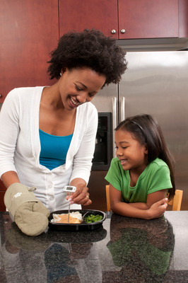 Be sure to cook your food to proper temperatures to avoid food poisoning. Using a food thermometer is the only way to tell if your food is safe. Visit www.HomeFoodSafety.org for more information.  (PRNewsFoto/Academy of Nutrition and Dietetics)