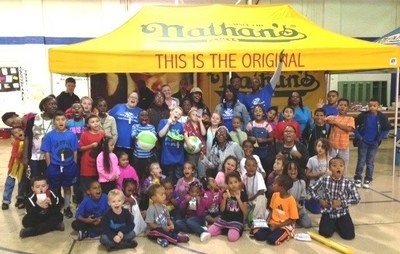 The Greater Smyrna Clayton Boys & Girls Club honored with Ready. Set. PLAY. event (PRNewsFoto/Nathan's Famous)