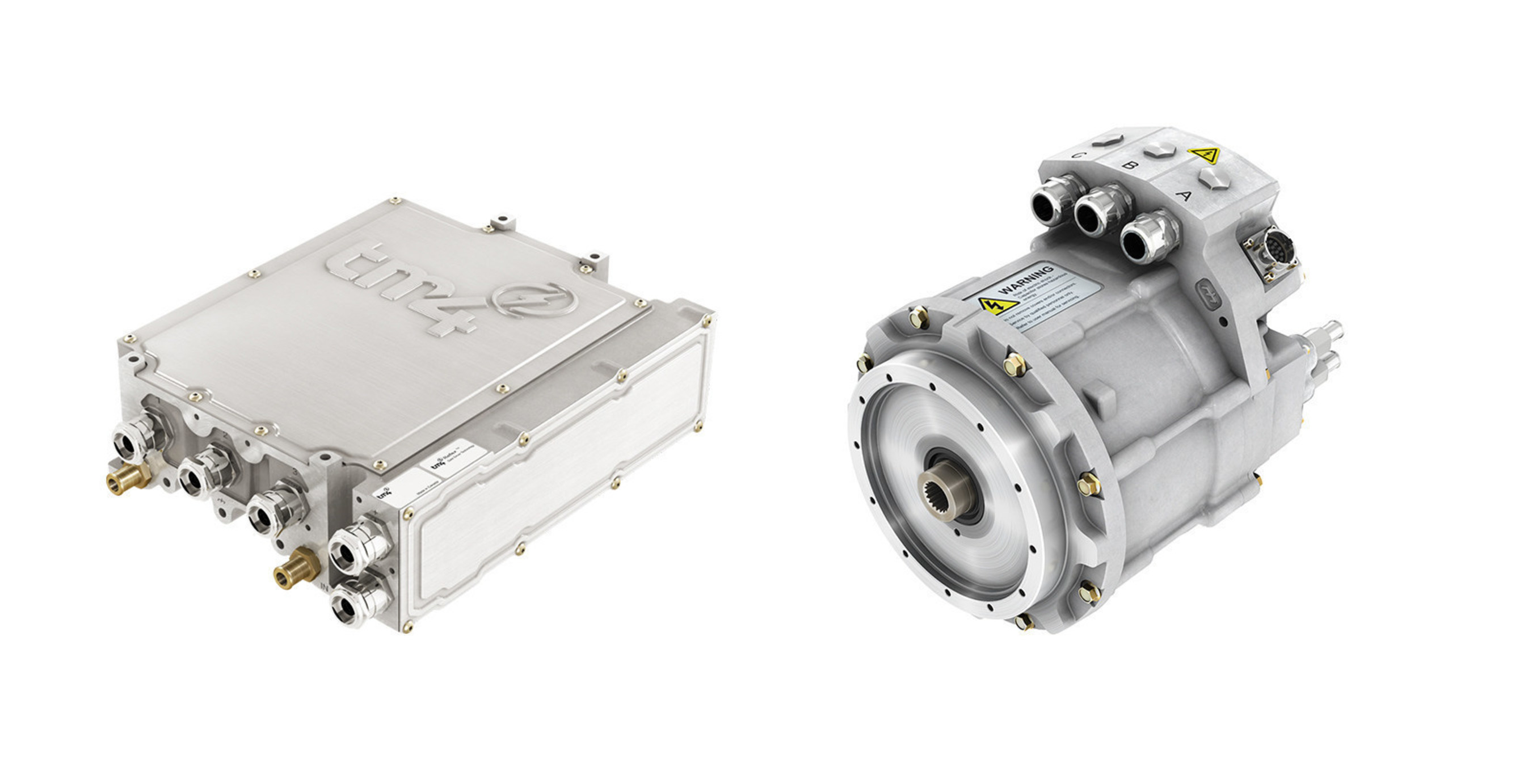 TM4 supplies its electric motor and inverter to Ballard Power Systems for its new generation
