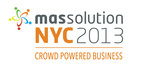 "Massolution Announces Inaugural Enterprise Crowdsourcing & Crowdfunding Conference: ""Massolution NYC 2013: Crowd Powered Business"" - Coca-Cola, Amazon, Xerox, and ABN AMRO Among Esteemed Line-Up of Speakers.  (PRNewsFoto/Massolution)"