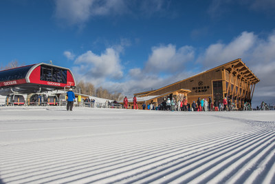 New Quicksilver Gondola and Miners Camp Restaurant on Dec. 18, 2015