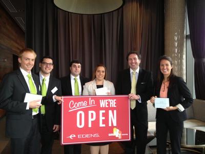 Edens Announces Winners Of Inaugural Retail Challenge.  (PRNewsFoto/EDENS)