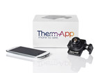 Therm-App(TM) mobile thermal imaging device offers high resolution night and bad-weather vision capabilities (PRNewsFoto/Opgal Optronic Industries Ltd.)