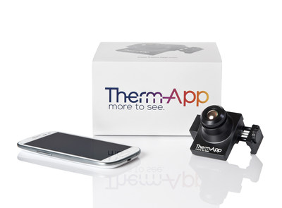 Therm-App(TM) mobile thermal imaging device offers high resolution night and bad-weather vision capabilities