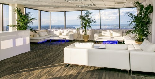 With a 360 degree view of Seattle and the surrounding region, the Sky View Observatory at Columbia Center teams  ...