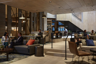 "Marriott Hotels, the flagship brand of Marriott International, the world's largest lodging company today, celebrated the grand opening of its M Beta at Charlotte Marriott City Center, an innovation lab that functions as the world's first hotel in ""live beta."""