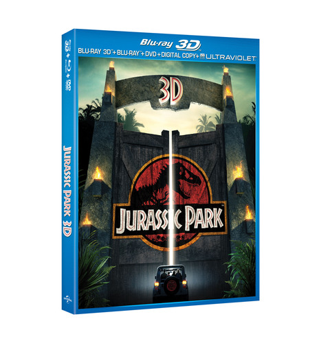 From Universal Studios Home Entertainment: Jurassic Park 3D.  (PRNewsFoto/Universal Studios Home Entertainment)