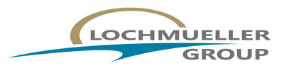 Lochmueller Group announced today that it's rebranding and debuted this new logo. (PRNewsFoto/Lochmueller Group) (PRNewsFoto/Lochmueller Group)