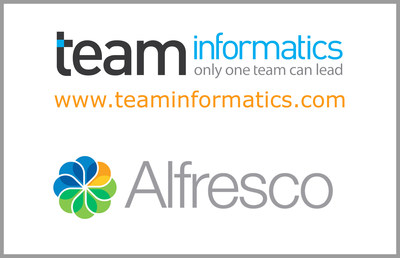 TEAM Announces Gold Systems Integrator Partnership with Alfresco Software, Inc. (PRNewsFoto/TEAM Informatics, Inc.)