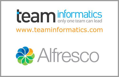 TEAM Announces Gold Systems Integrator Partnership with Alfresco Software, Inc. (PRNewsFoto/TEAM Informatics, Inc.)