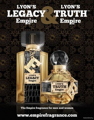 The packaging inspiration for the EMPIRE fragrances consists of striking gold, crocodila trim, and jeweled facets on the bottle and cap designs.  Available exclusively at http://www.empirefragrance.com.