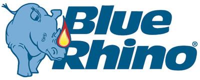 Blue Rhino logo.  (PRNewsFoto/Blue Rhino)