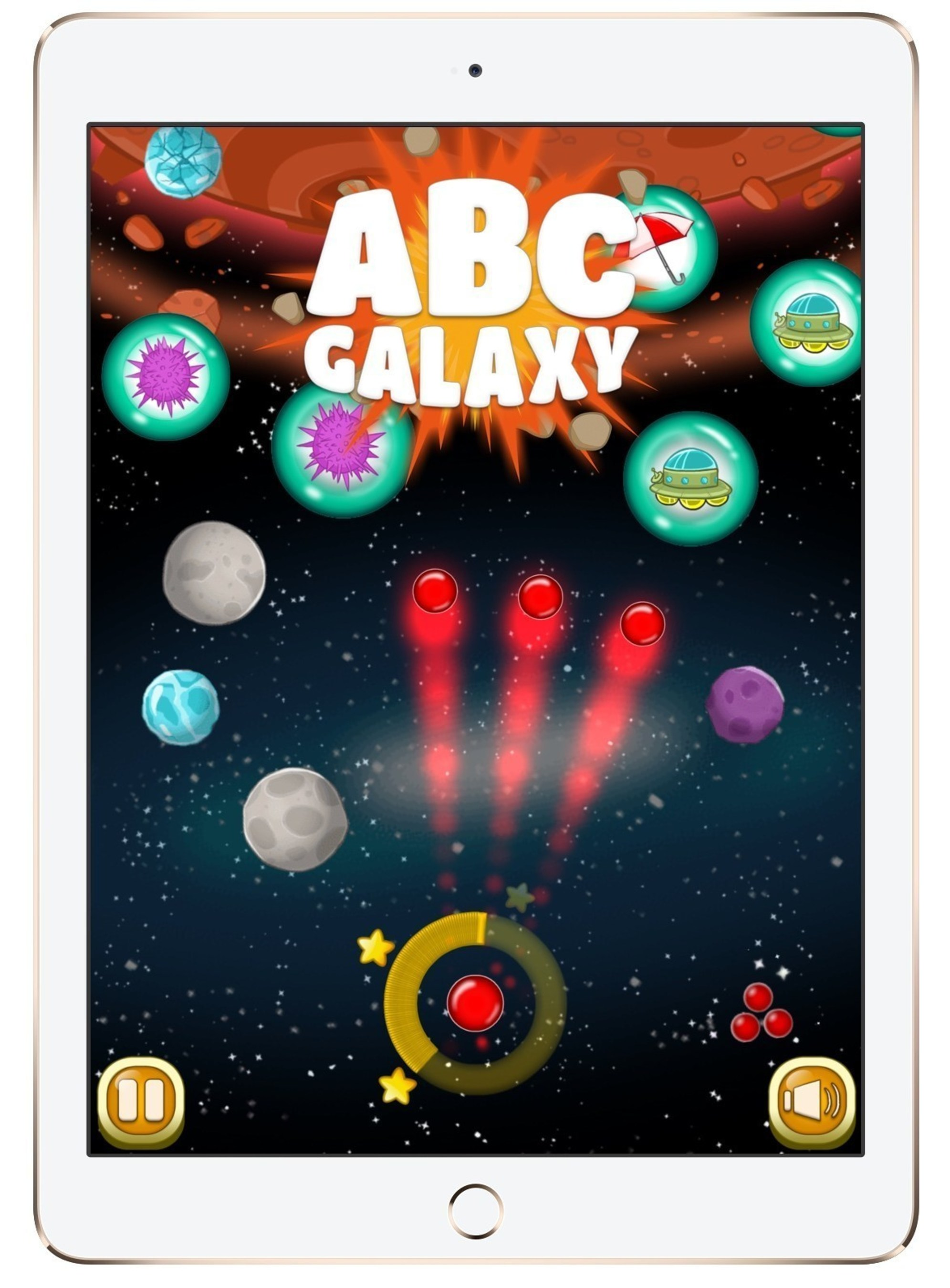 Studycat Announces Launch of ABC Galaxy, a New One and Two Player English Language Learning App for Kids