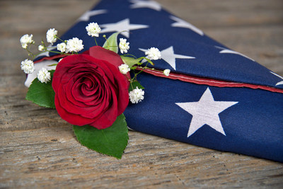 military floral arrangements - Google Search | Military ... |Military Funeral Flag Flowers