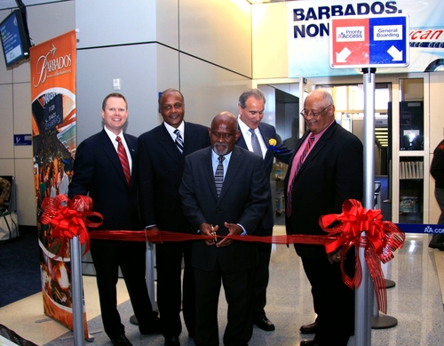 Barbados and American Airlines Celebrate Inaugural Nonstop Flight From Dallas/Ft. Worth to Barbados