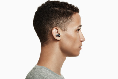 With a discrete, minimalist form factor, DUBS Acoustic Filters are advanced tech earplugs comprised of 17 individual parts. The DUBS reduce volume and protect your ears without sacrificing sound fidelity, style or comfort. (PRNewsFoto/Doppler Labs)