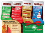 The period between Thanksgiving and New Year's is the deadliest time of the year for drunk driving, binge drinking, and alcohol related fatalities.