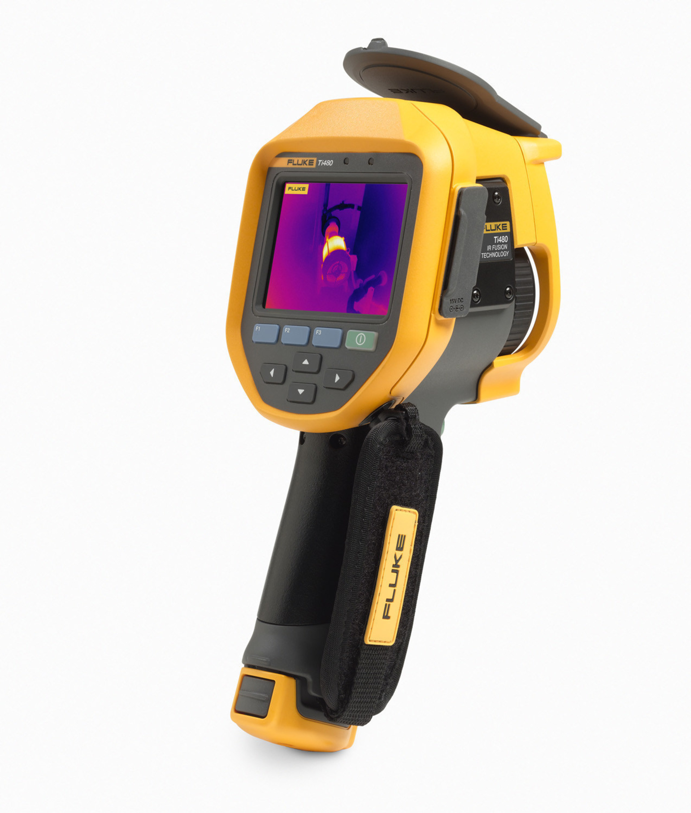With the Ti480 Infrared Camera, Fluke introduces 640 x 480 resolution into a rugged, pistol-grip form factor. The camera provides fast, one-handed operation to perform multiple inspections quickly and accurately.