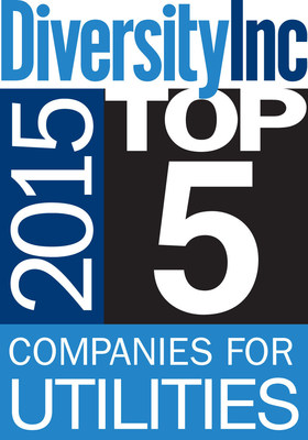 DiversityInc's 2015 Top 5 Companies for Utilities.