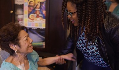 WellCare of New York nurse and care manager Trisha Simon visits Maria Marte in her home in the Bronx as part of the company's newly expanded field-based care management program. Through home visits, care managers are able to assess and address any gaps in members' care; provide assistance in navigating the health care system; develop collaborative care plans with physicians to manage members' chronic conditions; and help members access the appropriate level of care in the most appropriate setting.