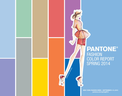 PANTONE Fashion Color Report Spring 2014.  (PRNewsFoto/Pantone LLC)