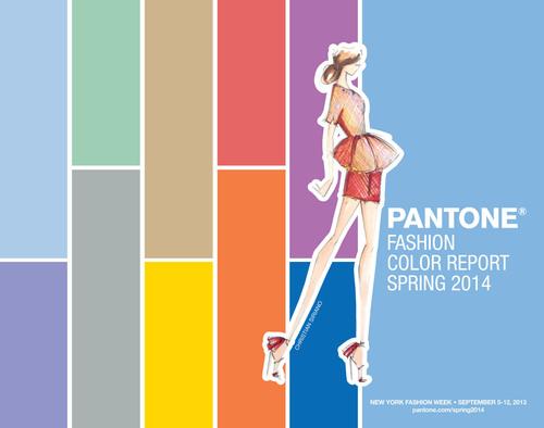 Pantone Announces Fashion Color Report Spring 2014