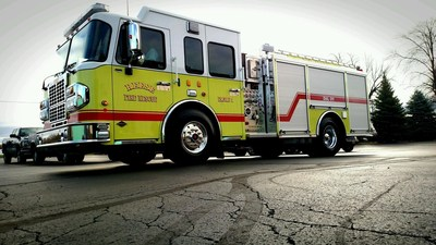 First revolutionary S-180 Pumper delivered to Reese Fire Rescue in Reese, Mich.