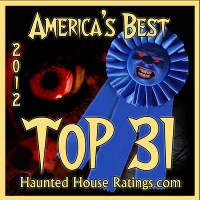 """Haunted House Ratings.com, The Victim's Choice for America's Best Haunted Houses.  """"You Vote, We Display the results.""""  (PRNewsFoto/HauntedHouseRatings.com)"""