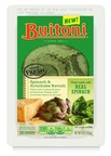 SPINACH & ARTICHOKE RAVIOLI is filled with a vibrant combination of spinach, artichoke hearts, creamy ricotta, and bold Parmesan cheese, and folds real spinach into the pasta itself, infusing bright flavor right into the dough.