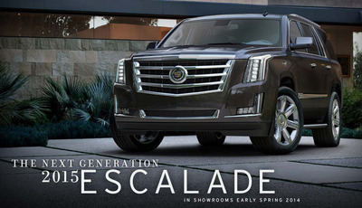 Although the 2015 Cadillac Escalade has been revealed, the 2014 model continues meeting the high standards of luxury SUV shoppers. (PRNewsFoto/Bill Jacobs Automotive Group)