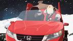 Santa's New Sleigh Saves Christmas in Honda's New Holiday Campaign. (PRNewsFoto/American Honda Motor Co., Inc.)